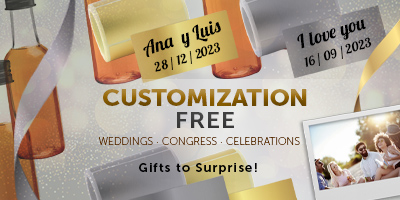 Customized Gifts to Surprise to your gests in Celebrations. Weddings, Congress, ... - TuCanarias.com