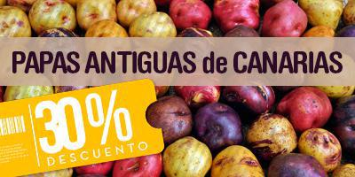 Black potatoes TuCanarias