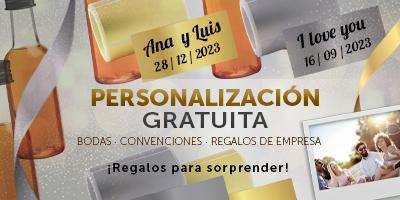 Personalizacion Gratis en tus Regalos de Bodas, Congresos y Celebraciones TuCanarias.com